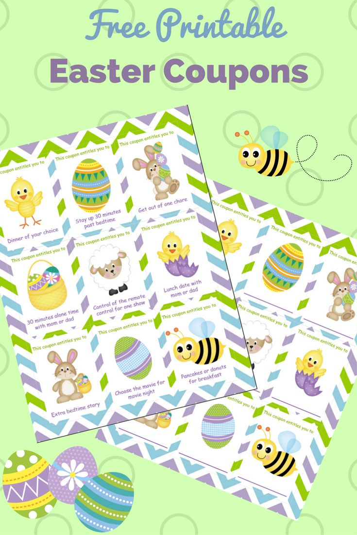 Coupons easter