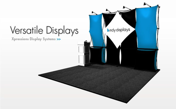 Trade Banner Stands : Best indianapolis trade show displays images on