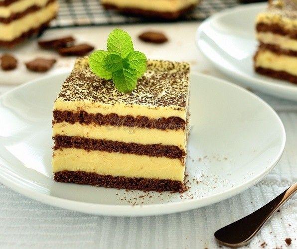 """Ciasto """"Słodki Adwokacik"""" bez pieczenia"""