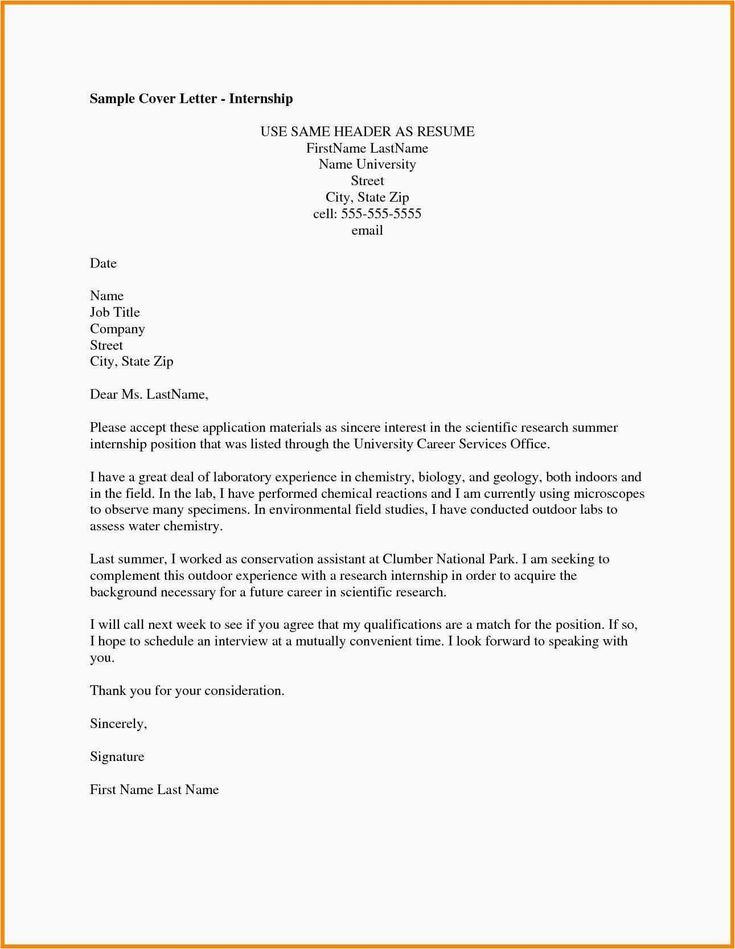 30 Cover Letter Examples For Internship Cover Letter Examples For Internship Internship Cover Letter Examples Download The Best Cover Letter Resume Cover