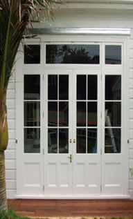 Solid Wood Doors for renovations,  Renall Doors (www.renalldoors.co.nz). They make double glazed wood jionery with CAD/CAM