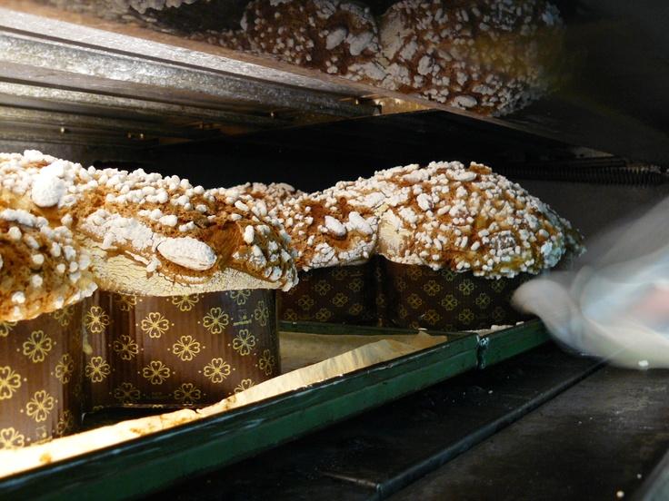 Le nostre colombe in forno. www.pierinopenati.it