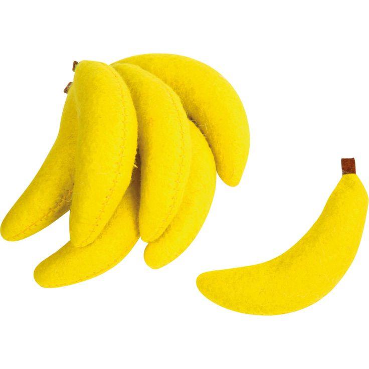 Set 7 banane din pluș