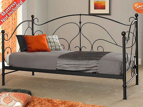 Tesco direct: Sareer Milano Black Day Bed