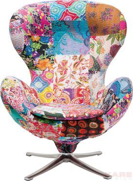 Funky #bohemia ♡ kanthaa textile retro chair