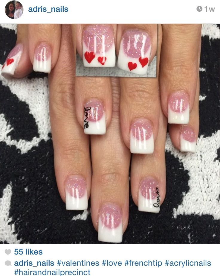 13 best V-Day Nail Ideas 2016 images on Pinterest | Cute nails, Nail ...
