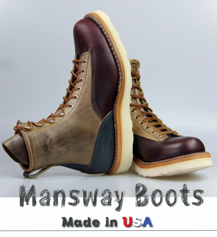 MANSWAY BOOTS  88697 WITH UNIQUE LEATHER LACE www.mansway.com