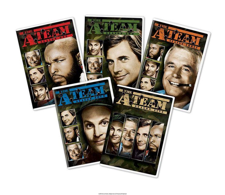 Amazon.com: The A-Team: The Complete Series: George Peppard, Dwight Schultz, Mr. T, Dirk Benedict, Melinda Culea: Movies & TV