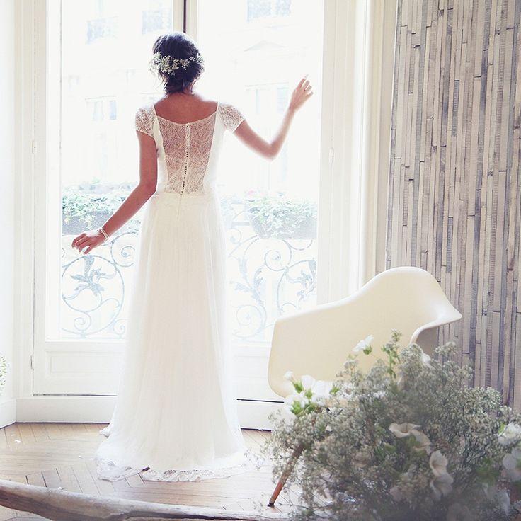 Robe de mariée fluide Amarildine