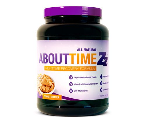 About Time Nighttime Recovery – Peanut Butter – 2 lb