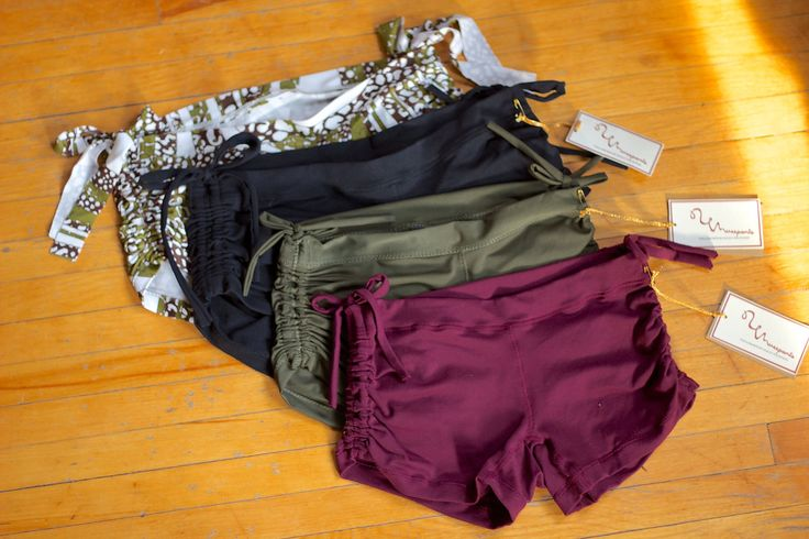 Hot Yoga Shorts from etsy