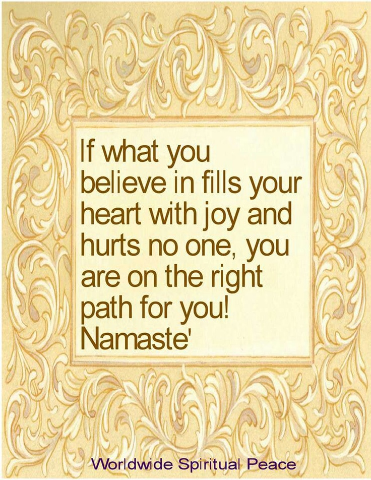 Namaste  #positivity