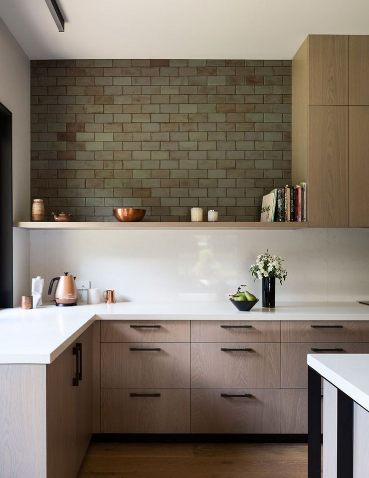 Cool Way To Incorporate Existing Brick Into A Contemporary Design