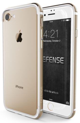 Bumper X-doria Defense Edge iPhone 7 Dorado. Protege tu iPhone manteniendo su aspecto original con mismos colores.