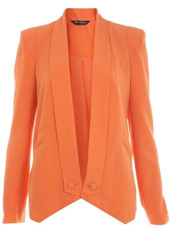 Orange Tux Blazer: Light Pink Blazers, Tux Blazers, Draping Tux, Orange Crushes, Orange Draping, Selfridge Orange, Miss Selfridge, Orange Tux, Orange Blazers