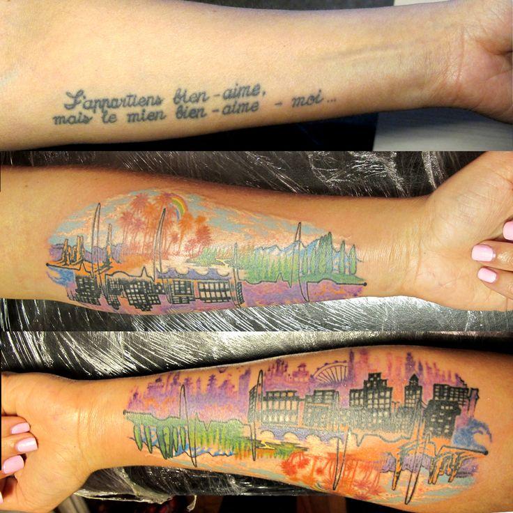 #coverup #tattoo #tattoodesign #tropic #travel #city