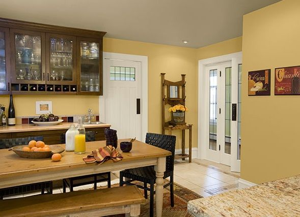 Yellow Kitchen Color Ideas 44 best color trends 2017 images on pinterest | wall colors