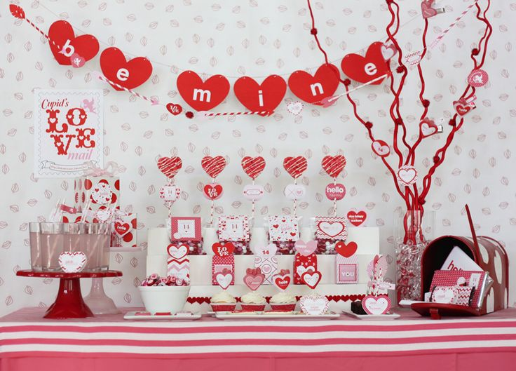 Cupidu0027s Post Office  Valentineu0027s Day Party   Karau0027s Party Ideas   The Place  For All Things Party
