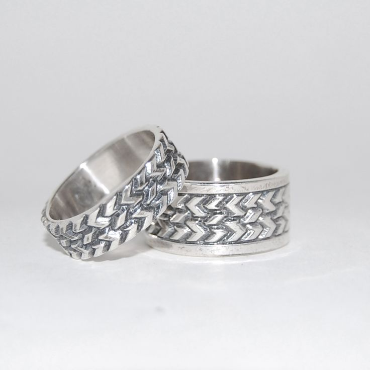 Tire rings for those who share the same passion. Entirely handmade in our workshop by greek hands.