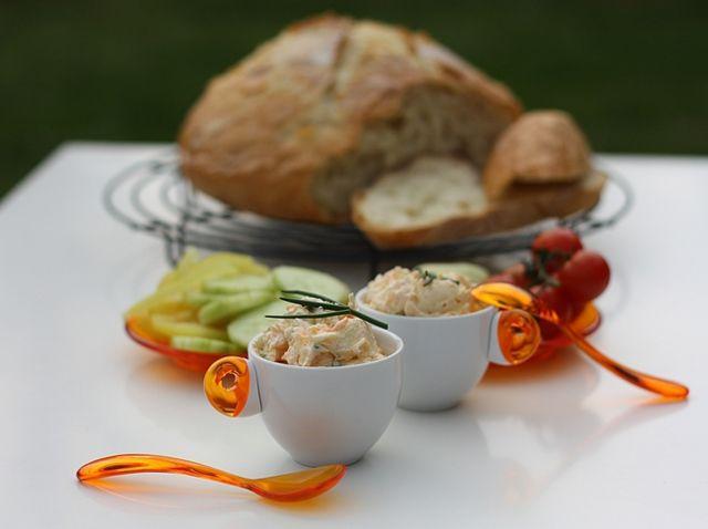 Tvarohová pomazánka s mrkví | Quark Spread With Carrot