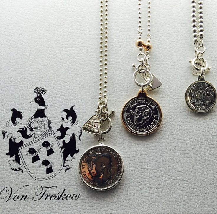 Style it up with Vontreskow pendants rose silver available at SilverWolf Jewellery