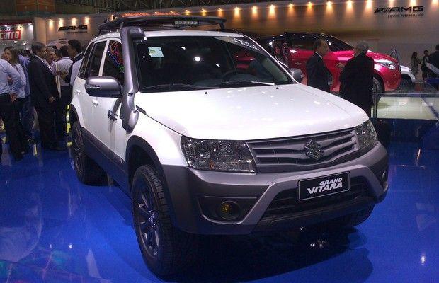 Suzuki Gran Vitara no Salão do Automóvel (Foto: Filipe de Oliveira/Autoesporte)
