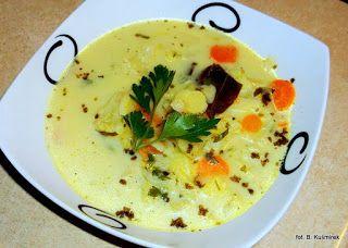 Bea(u)ty kitchen: Zupa kalafiorowa