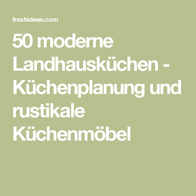 The 25+ best Moderne landhausküche ideas on Pinterest ... | {Moderne landhausküche siematic 15}