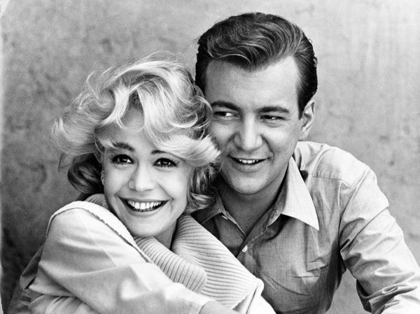 Sandra Dee and Bobby Darin, 1962. Such a heartbreaking love story.