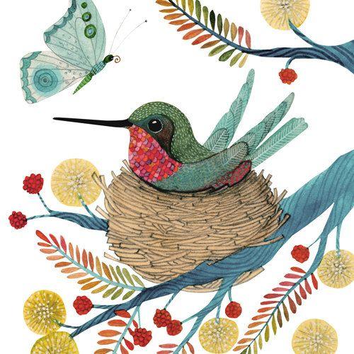 Nesting by Geninne on Etsy, $30.00