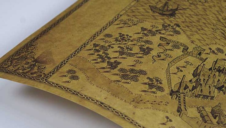 Harry Potter Marauders Map Wall Hanging 1000 Images About