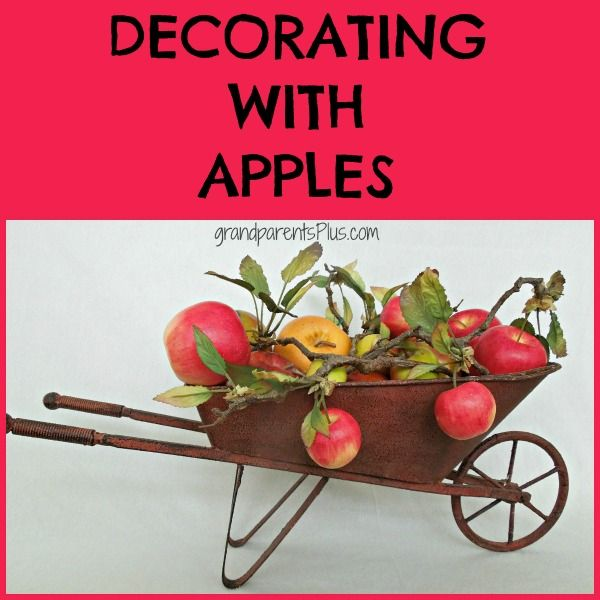 Decorating with apples is an easy way to celebrate fall. Use real, artificial, or mix them together for a great look! Combine varieties for size and color!