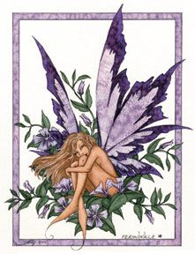 Periwinkle Fairy  by: Amy Brown
