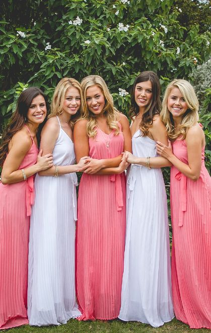 It's love at first sight for the Lilly Maxi! The Lilly dress should be part of every chapter's sorority recruitment. We specialize in group orders - large or small - for sorority recruitment and bridesmaids. Order a sample box and try on at home! www.shoprevelry.com sorority   bid-day apparel   trendy Greek apparel   sorority recruitment   sorority recruitment outfits   spring recruitment   Greek life