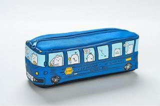 Bus Pencil Cases Cartoon Schools