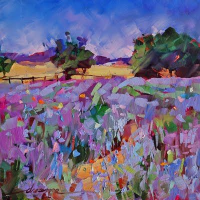 """""""The Scent of Lavender"""" by Dreama Tolle PerryFlower Painting, Lavender Fields, Art Inspiration, Fine Art, Dreama Toll, Toll Perry, Oil Pastel, Artists Dreama, Pastel Painting"""