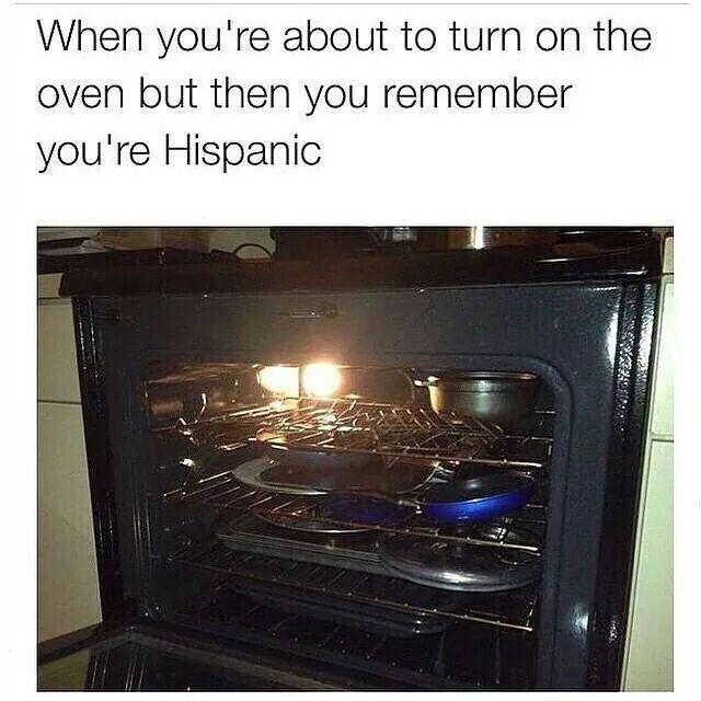 Hispanics Be Like....
