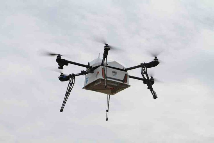 THE world's first pizza delivery by DRONE has taken place in New Zealand.  In a stunt that could mark the end of scooter-driven fast food, Domino's sent its first ever unmanned aircraft to successfully carry out a pizza order.