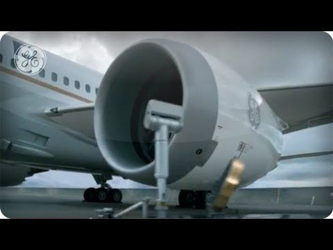 Fly into the Future (GE TV Commercial)
