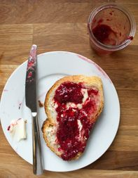 Strawberry-Hibiscus Jam