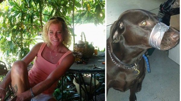 Punish ignorant woman that taped her dog's muzzle shut and posted photo online! | YouSignAnimals.org