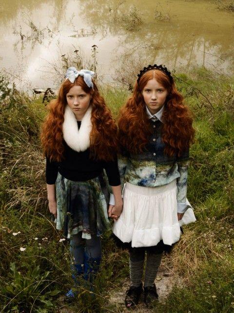 série mode : double trouble | MilK - Le magazine de mode enfant
