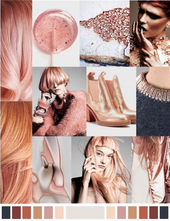 Модный цвет волос: холодный оранж и блондж