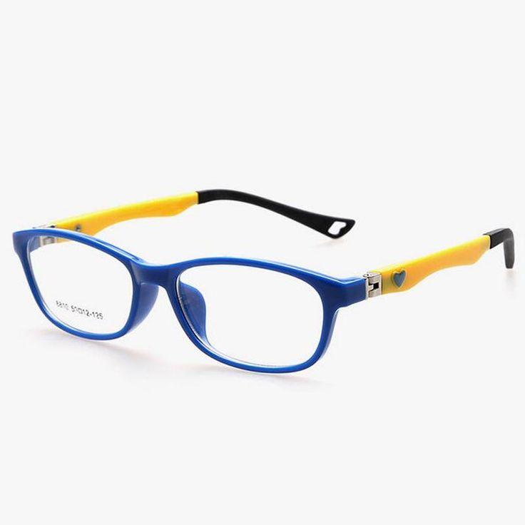 Heart hinge eyewear frames Children super light Frames for Kids Glasses Frames Boys for Girls TR90 Myopia Optical glasses frame