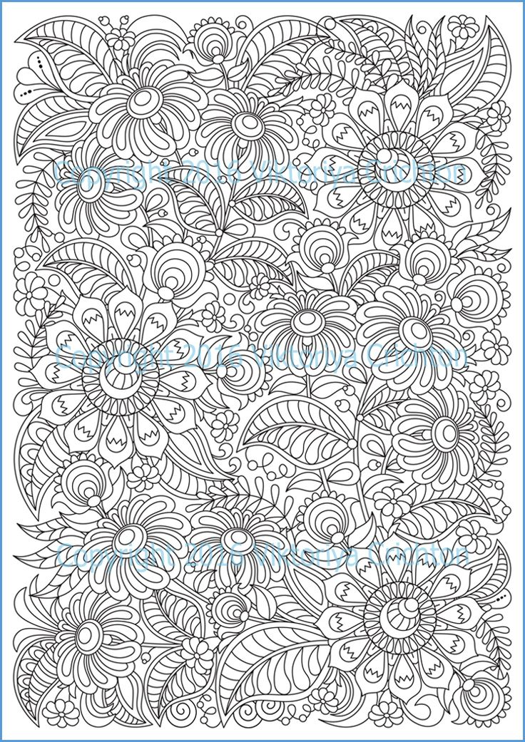 203 Best Images About ZENTANGLE DOODLING COLORING PAGE On