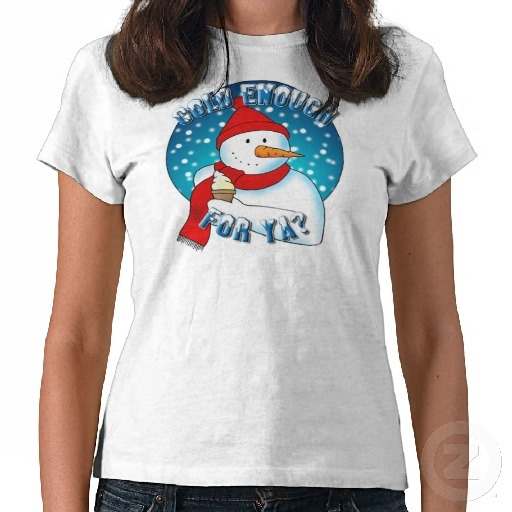 Cold Enough For Ya? :- Another fashion aid in the search for coolness. Can't get much cooler really can you!  #fashion #snowman #cool #holiday #winter #holidays #cold #snow #icecream #freezing #poser #frosty #fashionable #christmas #yuletide #festive #fun #silly