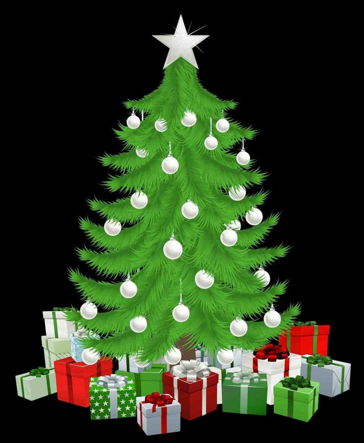 New Post christmas tree emoji transparent