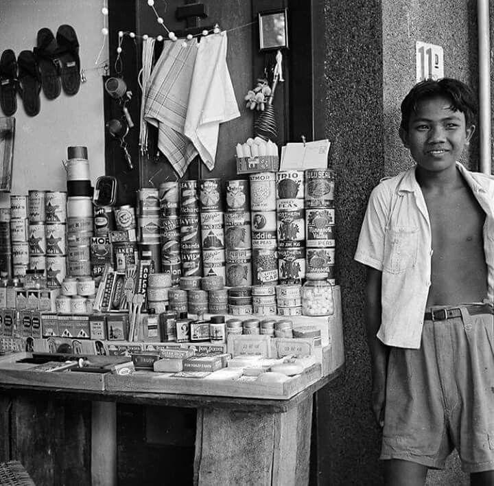 Warung rakyat, Djakarta 1952