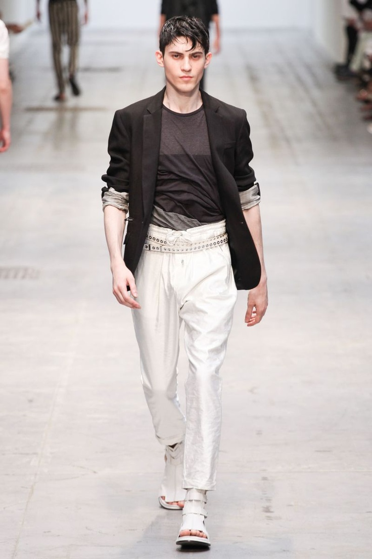 Alfred Yoshiaki for Costume National - *Milan* Spring/Summer 2013