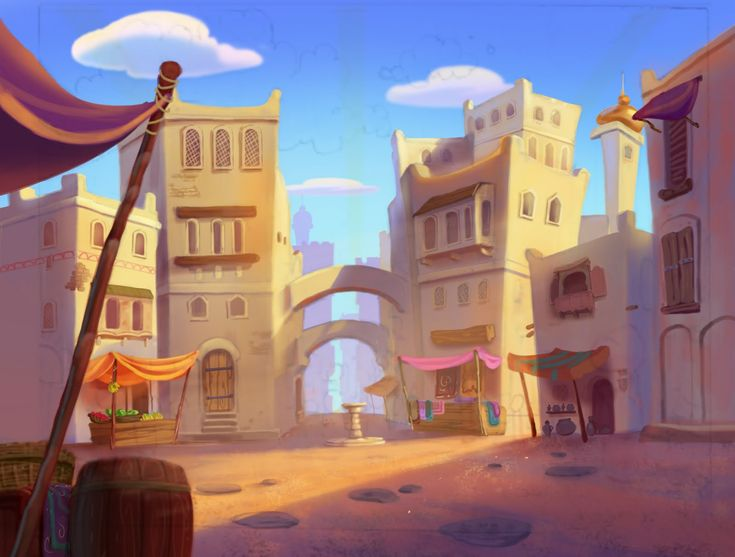 Minecraft Animation Wallpaper Image Result For Arabian Marketplace Animation